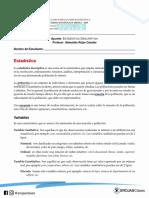 Guía - Estadística Descriptiva