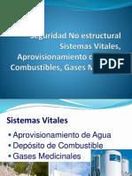 Seguridad No estructural Sistemas Vitales