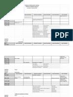Horario examenes interciclo  noviembre 2019 25nov2dic