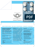 Sky Blue Overdrive HW manual