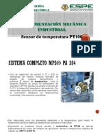 Sensor de temperatura PT100