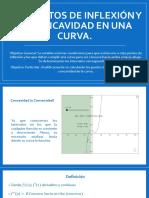 3.19 Puntos de Inflexión y de Concavidad en Una Curva.
