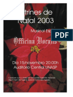 Vitrines UNASP 2003