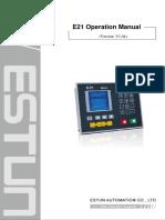 Press-Brake-Estun-E21-Operation-Manual