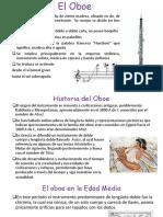 presentación el oboe