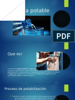 Agua potable Franco Moreno 3ro 4ta