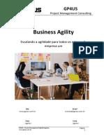 Business Agility - Escalando a Agildiade Para Todos Os Setores Da Empresa