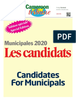 Edition Speciale Ct Municipales 2020 Pdf Europe De L Ouest France