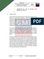 CAPITULO VI Determinacióndel Area de Influencia Socio Ambiental