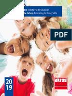 Catalogo Akros 2019