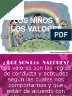 Los niños y los valores