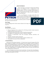 ABOUT PETRON