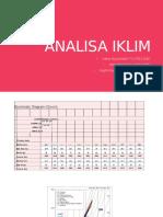 ANALISA IKLIM
