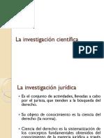 D1 La investigación científica en derecho