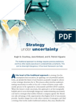 The Mckinsey Strategy in Uncertainty