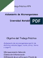 Aislamiento de Microorganismos