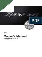 Owner's Manual(3)Reeper transmission
