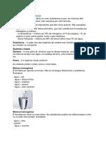 Misturas e Substancias e Separação de Misturas
