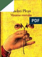 Minima Moralia, Andrei Plesu