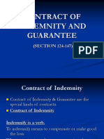 INDEMNITY AND GUARANTEE.ppt