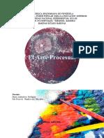 Arte Procesual - Planificación Artística