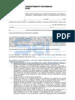 Consentimineto Informado-Implantologia