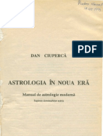 Dan Ciuperca - Astrologia in Noua Era