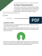 Python Tutorial for Beginners – Learn Python Programming - Intellipaat