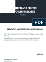 Prevention and Control of Disease MT