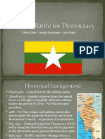 Burma Current Event