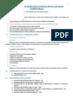 SUJETOS DE DERECHO INTERNACIONAL SIN BASE TERRITORIAL - resumen