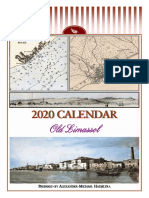 2020 calendar - Old Limassol (English)
