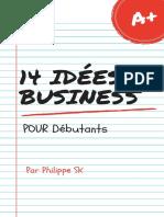 14 Idées de Business