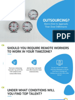 Outsourcing ? Here's How to Approach Time Zone Differences
