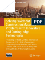 Solving Pavement and Construction Materials Problems 2019
