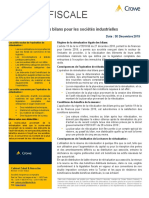 Tax alert 5-2019 Réévaluation des Bilans