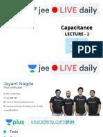 [L2] Capacitance 11th May Pdf Notes