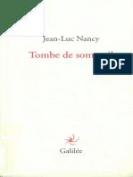 Jean-Luc Nancy - Tombe de sommeil-Editions Galilée.pdf