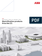 ABB Electrification Pricelist_1Jan 2020