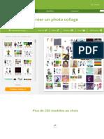 Créer un photo collage » insére tes photos directement !