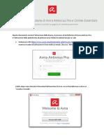 Avira Antivirus Pro - Procedura di installazione