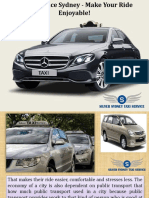 Best Taxi Services in Sydney
