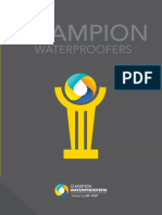 Champion Waterproofers Brochure