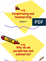 Lec4-ParaphrasingandSummarizing