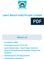 Learn Bench India -Best Project Center in Chennai