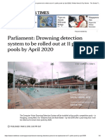 CNN Drowning detection system to be rolled out at 11 public pools by April 2020 - ST