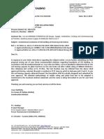 Letter reg. PLT