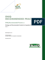 ENIQ RP 12 Issue 1 Strategy and Recommended Contents for Inspection Procedure
