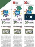 """GEL UR - """"Lakabe, pueblo okupado y autogestionado"""" (Logroño, 1-XII-2010)"""