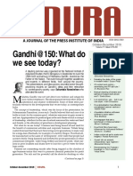 Vidura October-December 2019, Vol. 11, Issue 4, ISSN 0042-5303